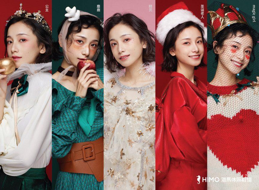 圣诞季又一走心案例,海马体照相馆的美好式病毒营销