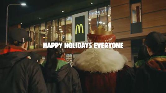 圣诞节最走心借势营销,OLAY居然在地铁里下了一场雪!
