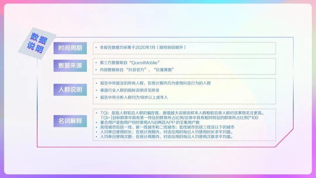 """020年抖音及抖音火山版用户画像报告,DAU超4亿!"""""""