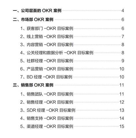 打工人提效指南:大厂推崇的OKR到底是啥样?