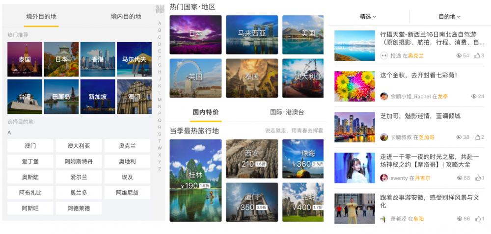 从旅行流程,探讨在线旅游的用户体验提升方案