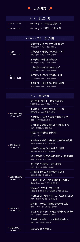 GrowingIO 2018 增长大会上海站