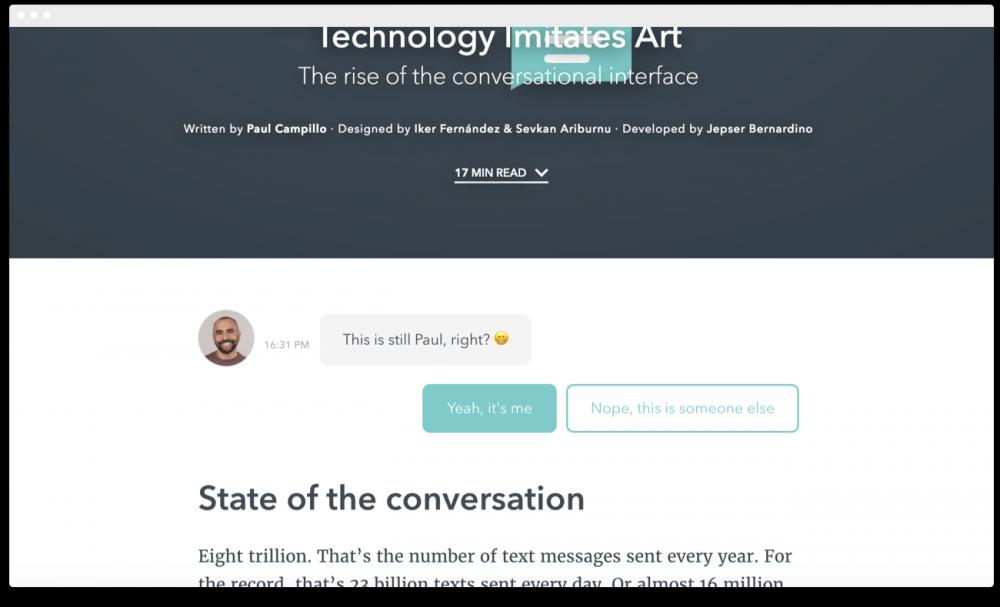 对话界面:聊天机器人的未来